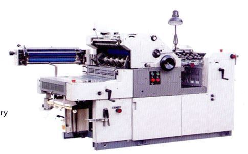 Offset Printing with Numbering & Perforation Machine